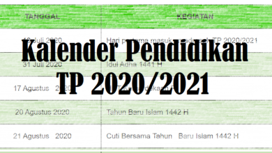 Photo of Download Kaldik Tahun 2020/2021 Kalender Akademik Terbaru