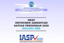 Download Instrumen Akreditasi SMK Tahun 2020